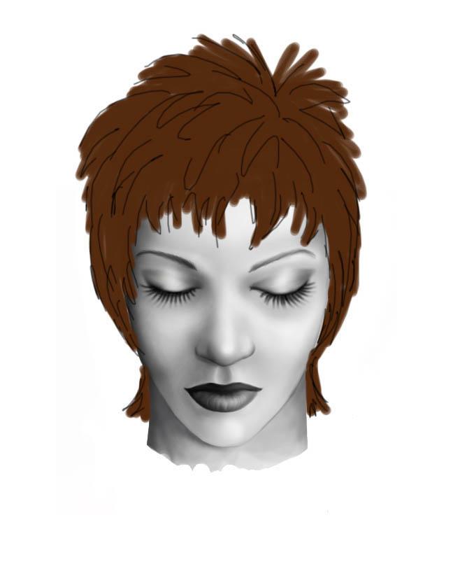Shag Hair Tutorial